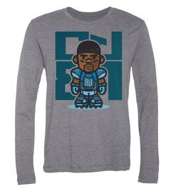 Calvin Johnson #81 Character Long-Sleeve T-Shirt