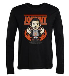 Johnny Manziel Money Long-Sleeve T-Shirt