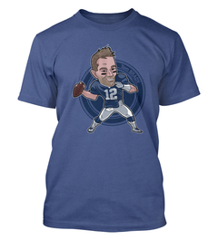 Tom Brady Caricature T-Shirt