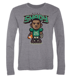 LeSean McCoy Stay Shady Long-Sleeve T-Shirt