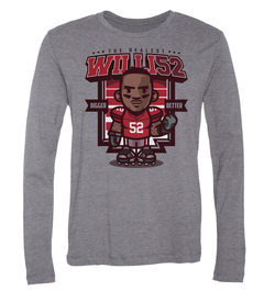 Patrick Willis The Realest Long-Sleeve T-Shirt