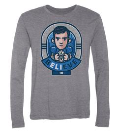 Eli Manning bELIeve Long-Sleeve T-Shirt