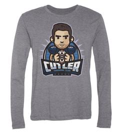 Jay Cutler Throwing Club Long-Sleeve T-Shirt