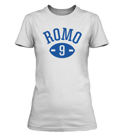 Tony Romo Football Player Ladies' T-Shirt