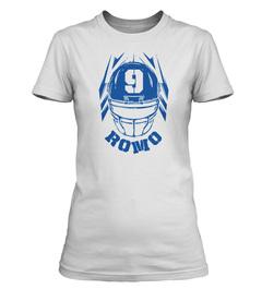Tony Romo Helmet Ladies' T-Shirt