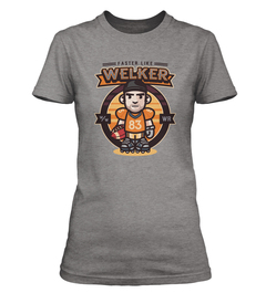 Wes Welker Faster Ladies T-Shirt