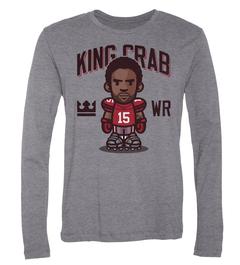 Michael Crabtree King Crab Long-Sleeve T-Shirt