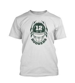 Aaron Rodgers Helmet Youth T-Shirt