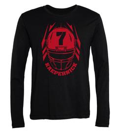 Colin Kaepernick Helmet Long-Sleeve T-Shirt