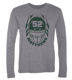 Clay Matthews Helmet Long-Sleeve T-Shirt