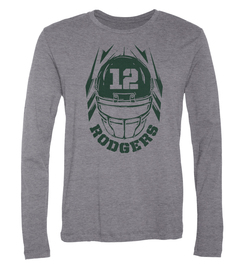 Aaron Rodgers Helmet Long-Sleeve T-Shirt