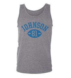 Calvin Johnson Football Player Tank Top