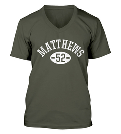 Clay Matthews Football Player V-Neck T-Shirt