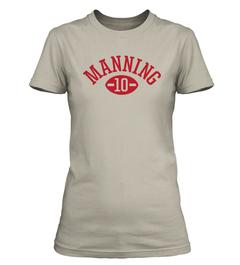 Eli Manning Football Player Ladies T-Shirt