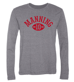Eli Manning Football Player Long-Sleeve T-Shirt