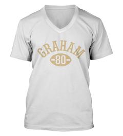 Jimmy Graham Football Player V-Neck T-Shirt