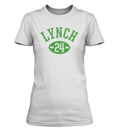 Marshawn Lynch Football Player Ladies T-Shirt