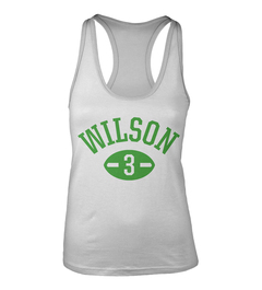 Russell Wilson Football Player Racerback