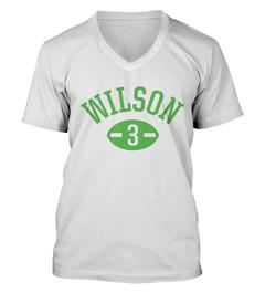 Russell Wilson Football Player V-Neck T-Shirt