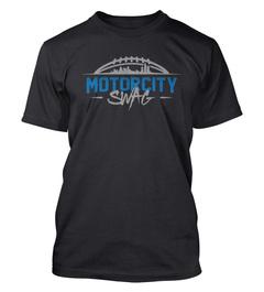 Eric Ebron Motor City Swag T-Shirt