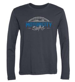 Eric Ebron Motor City Swag Long-Sleeve T-Shirt