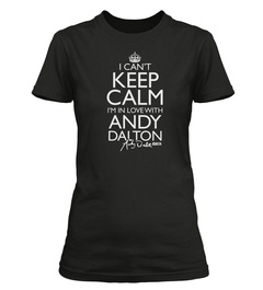 "Officially Licensed Andy Dalton ""I Can't Keep Calm"" Custom Tee"