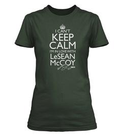 "Officially Licensed LeSean McCoy ""I Can't Keep Calm"" Custom Tee"